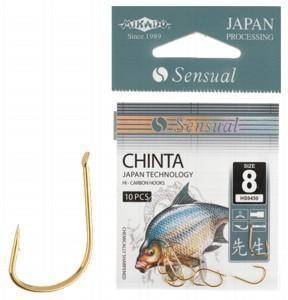 Крючок Mikado Sensual Chinta Gold 10 шт