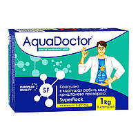 Химия для бассейна AquaDoctor Superfloсk в картушах 1 кг, фото 1