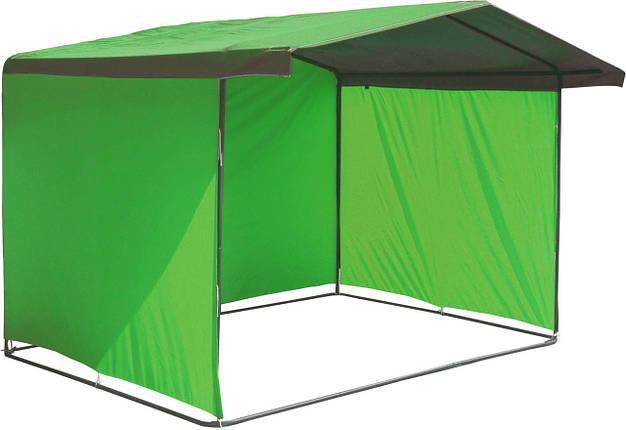 """Палатка для торговли 3х2 м """"Люкс"""" Ф20. Бесплатная доставка! Зеленый, фото 2"""