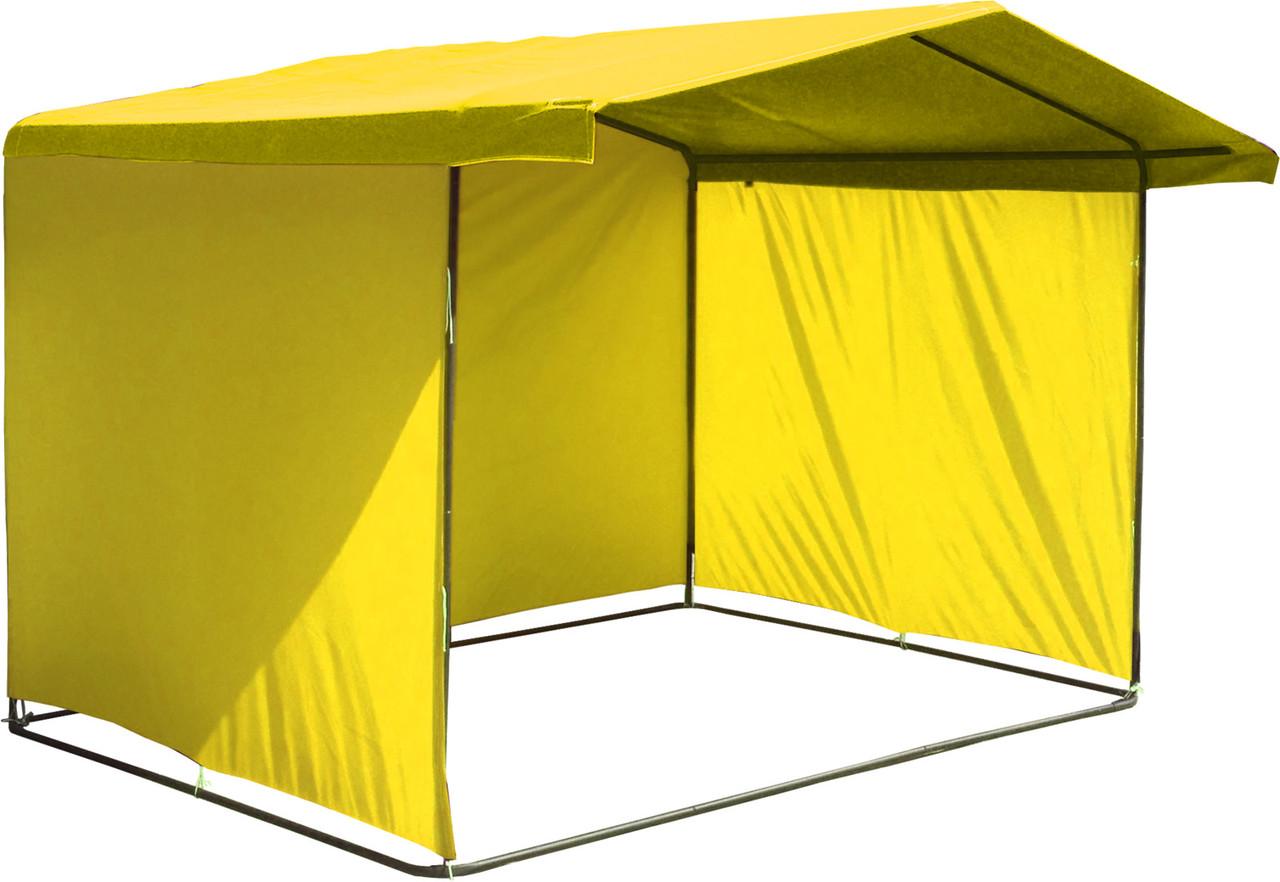 """Палатка для торговли 3х2 м """"Люкс"""" Ф20. Бесплатная доставка! Желтый"""
