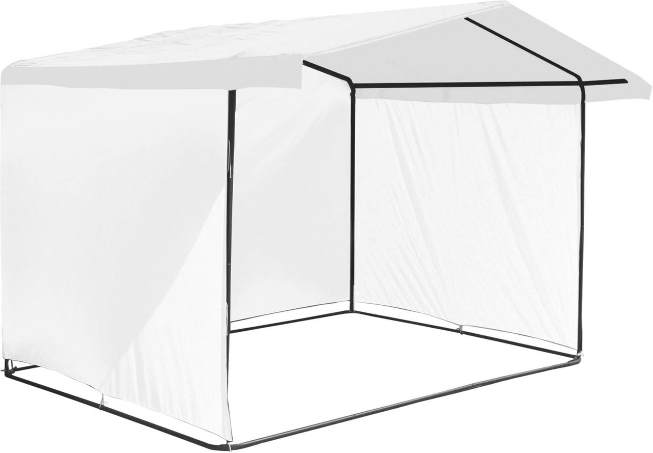 """Палатка для торговли 3х2 м """"Люкс"""" Ф20. Бесплатная доставка! Белый"""