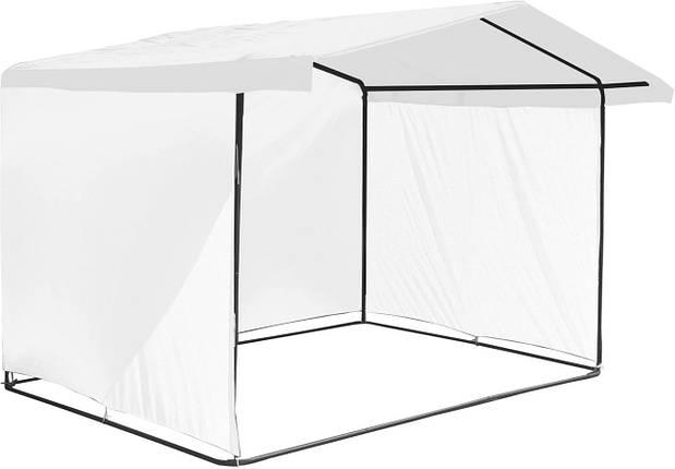"""Палатка для торговли 3х2 м """"Люкс"""" Ф20. Бесплатная доставка! Белый, фото 2"""