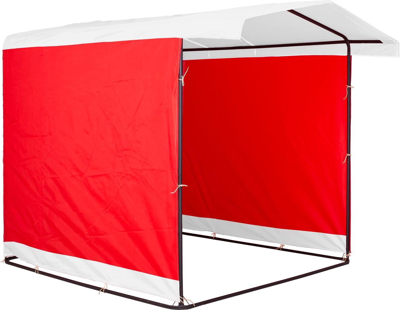 """Палатка для торговли 3х2 м """"Люкс"""" Ф20. Бесплатная доставка! Белый/Красный"""
