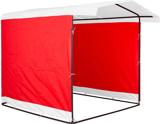 """Палатка для торговли 3х2 м """"Люкс"""" Ф20. Бесплатная доставка! Белый/Красный, фото 2"""