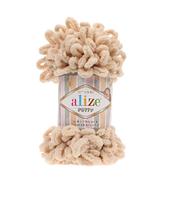 Alize Puffy (Ализе Пуффи) медовый №310 (пряжа, нитки для вязания руками)
