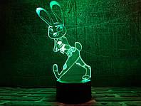 """Сменная пластина для 3D светильников """"Джуди Хопс"""" 3DTOYSLAMP"""