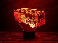 "3D ночник ""Автомобиль 12"" 3DTOYSLAMP, фото 1"