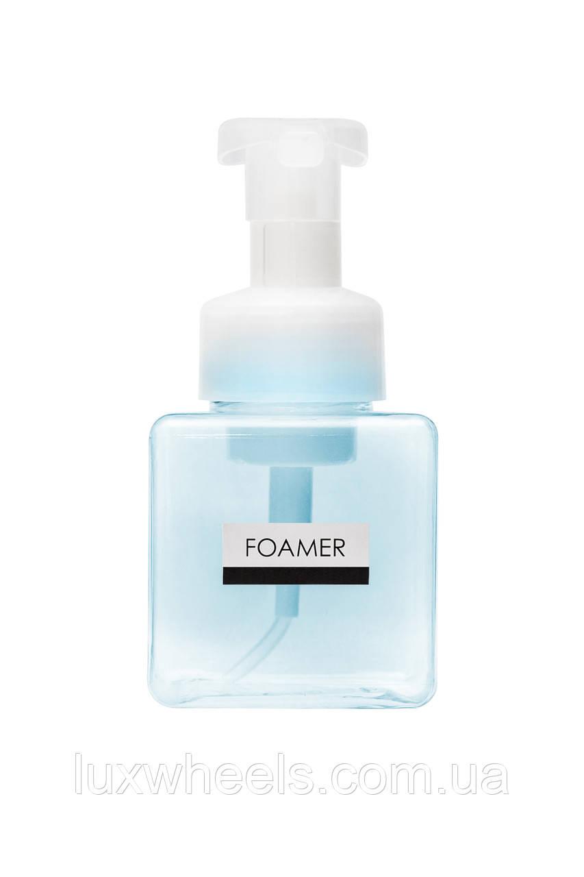 Дозатор диспенсер для жидкого мыла с функцией создания пены FOAMER 250мл голубой