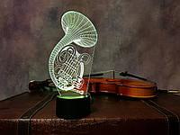 """3D ночник """"Труба 2"""" 3DTOYSLAMP, фото 1"""