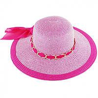 Пляжная женская шляпа с цепочкой 131575