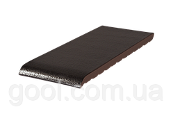Клинкерный керамический подоконник King Klinker цвет Onyx black размер 150x120x15 мм оконный отлив из клинкера