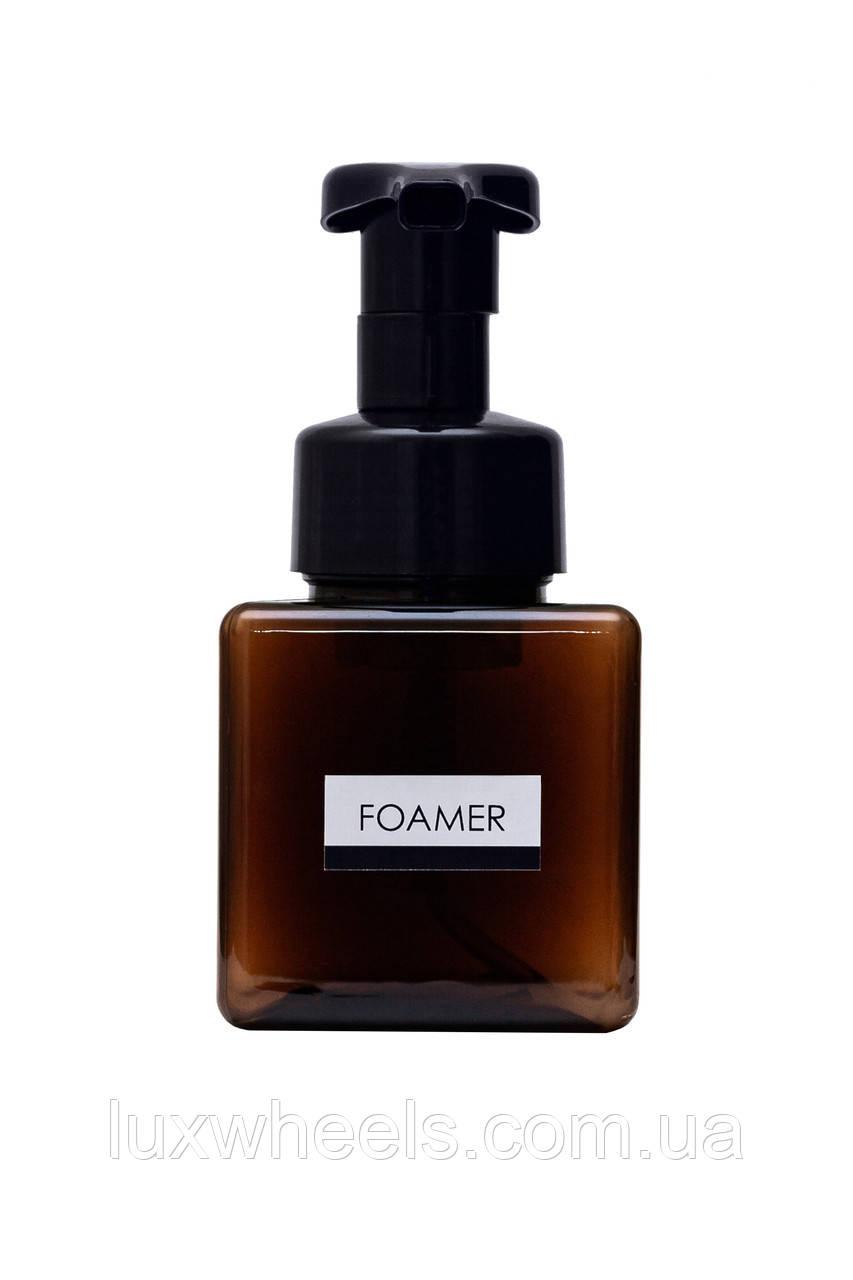 Дозатор диспенсер для жидкого мыла с функцией создания пены FOAMER 250мл коричневый