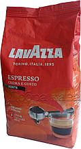 Кофе в зернах Lavazza Crema e Gusto Forte (20% Арабика) 1 кг