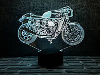 "3D Светильник ""Мотоцикл 7 "" 3DTOYSLAMP, фото 1"