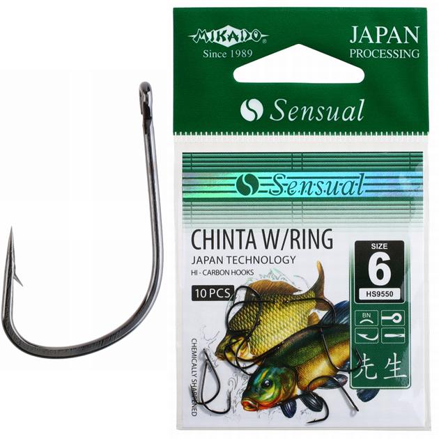 Гачок Mikado Sensual Chinta with ring 10 шт