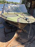 """Лодка """"Крым"""" с мотором Honda BF 30D 508 нога на ходу"""