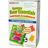 Витамины для детей, Rainbow Light, 30 пакетиков по 4 жевательные конфеты