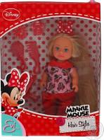 Оригинал. Кукла Evi Minnie Mouse с аксессуарами для волос Simba 5746513U