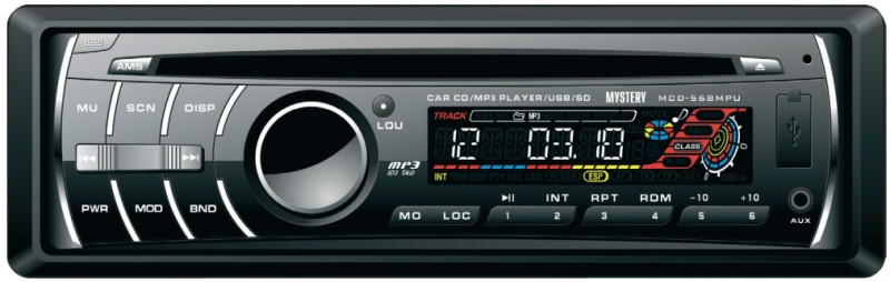 CD/MP3-автомагнитола Mystery MCD-568MPU