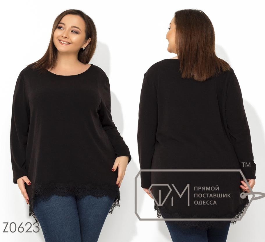 6258a3c0180 Туника с удлиненной спинкой большой размер интернет-магазин женской одежды  р. 56-62