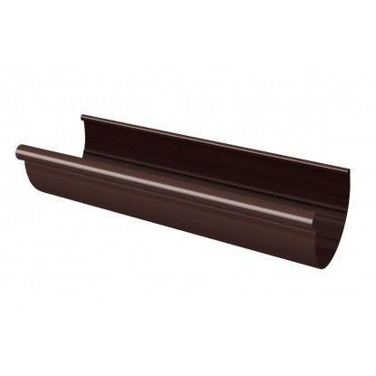 Желоб RainWay 130х3000 мм коричневый