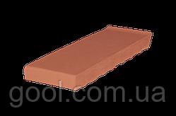 Клинкерный керамический подоконник King Klinker цвет Tytan размер 160x105x28 мм оконный отлив из клинкера