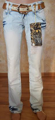Рваные женские джинсы JUSTCAVALLI (копия), фото 2