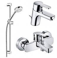 Набор смесителей для ванны Kludi Logo Neo 3 в 1 арт. 376850575