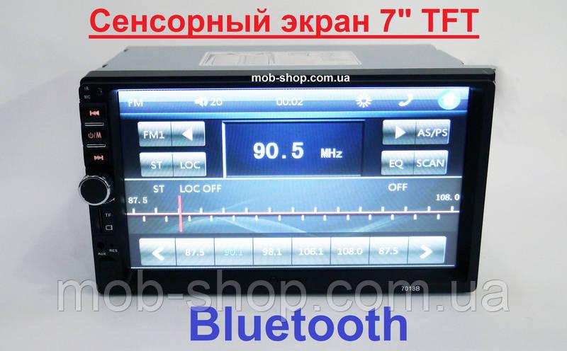 "Автомагнитола пионер Pioneer 7018B 7"" 2DIN+USB+SD+Bluetooth"