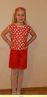 Летний костюм для девочки, 7-8 лет, Киев. Подарок для девочки