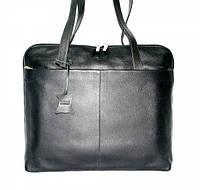 4-131.01 Портфель кожаный деловой женский под ноутбук с классификатором