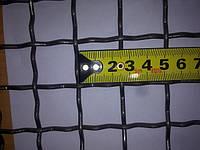 Сетка канилированная 25*25 диаметр проволоки 4.0 мм оцинкованная