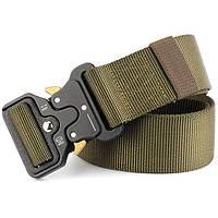 Пояс тактический Tactical Belt оливковый р-125*3,8см TY-6840