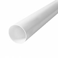 Труба RainWay 75х3000 мм белая