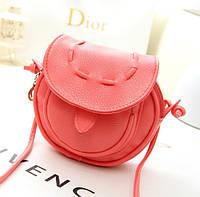 Небольшая сумка Красная (с оттенком розового)
