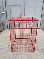 Контейнер корзина для сбора пластика ПЄТ