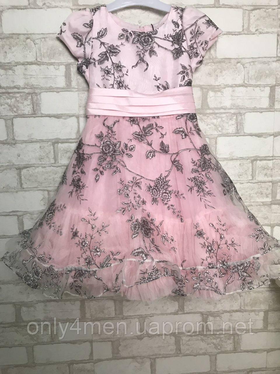 Красивое платье для девочек на 6 лет