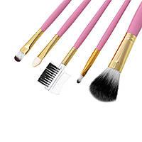 Кисти для макияжа розовые Качество 5 шт, фото 1