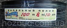 Лента капельного орошения щелевая IRRI HOSE 8 mills через 10 см 100 м
