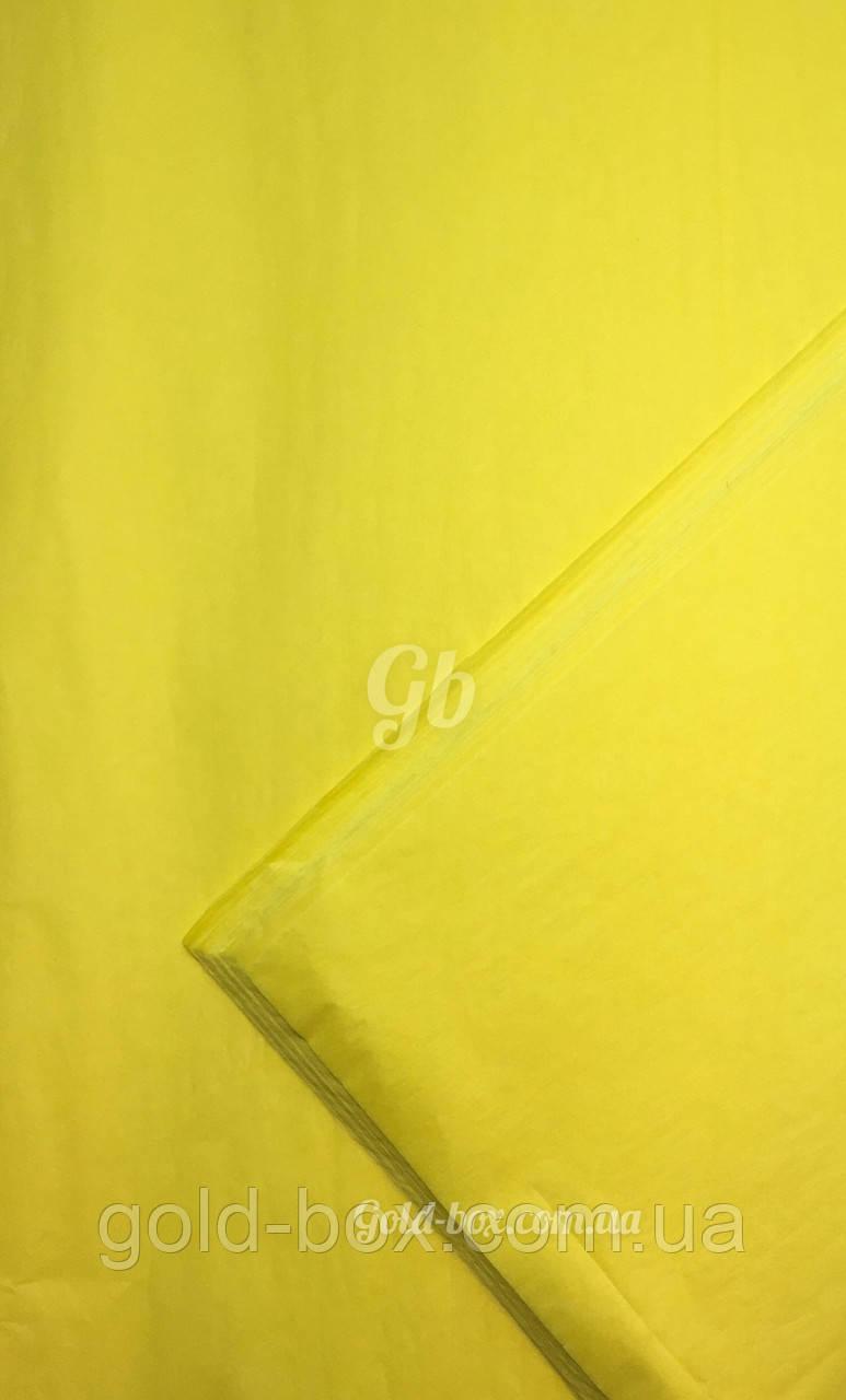 Упаковочная бумага тишью «Лимонный» 50шт