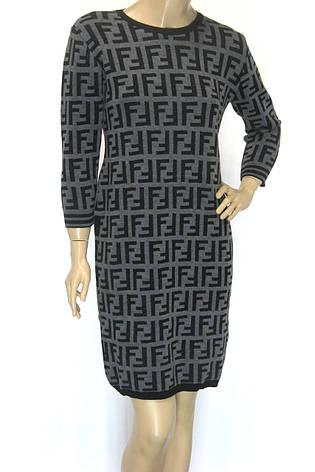 трикотажне плаття Fendi , фото 2