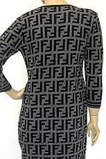 трикотажне плаття Fendi , фото 3