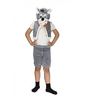 Новорічний дитячий карнавальний костюм вовка