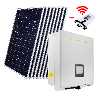 "Комплект СЭС ""Стандарт"" инвертор OMNIK 15kW + солнечные панели (WiFi)"