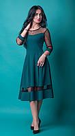 Платье женское комбинированное  (254)