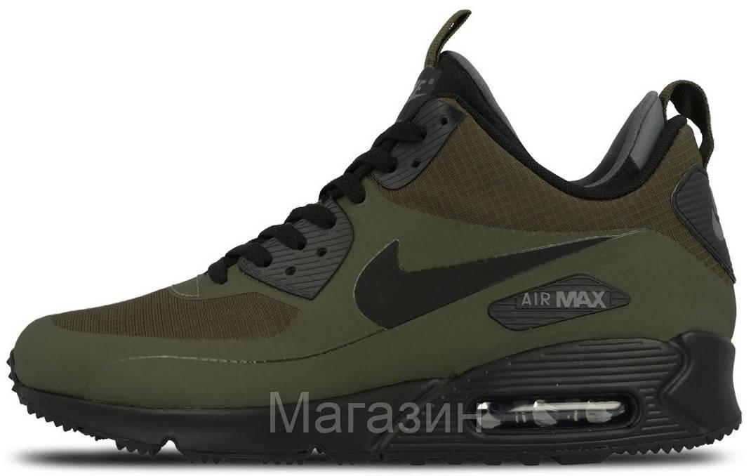 quality design dc6f7 25c10 Мужские кроссовки Nike Air Max 90 Mid Winter Dark Loden 806808-300 Найк Аир  Макс