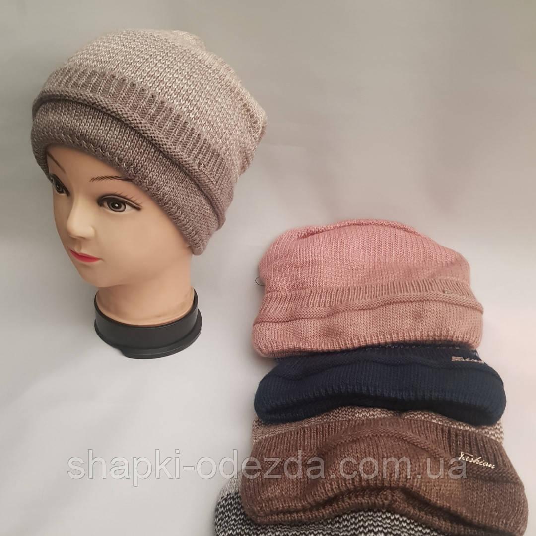 Молодежная шапка на флисе