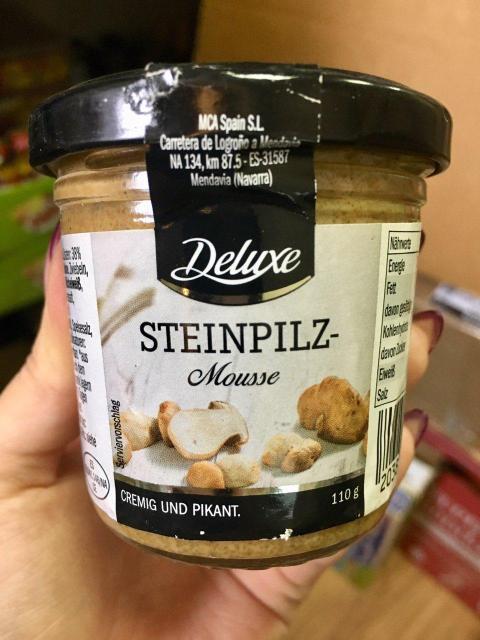Паштет Deluxe Steinpilz - Mousse (Грибы)