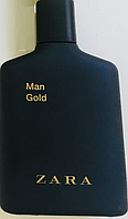 ZARA Man Gold EDT 100 ml TESTER  туалетная вода мужская (оригинал подлинник  Испания)