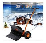 Плуг снегоочиститель на колесах FUXTEC, фото 7